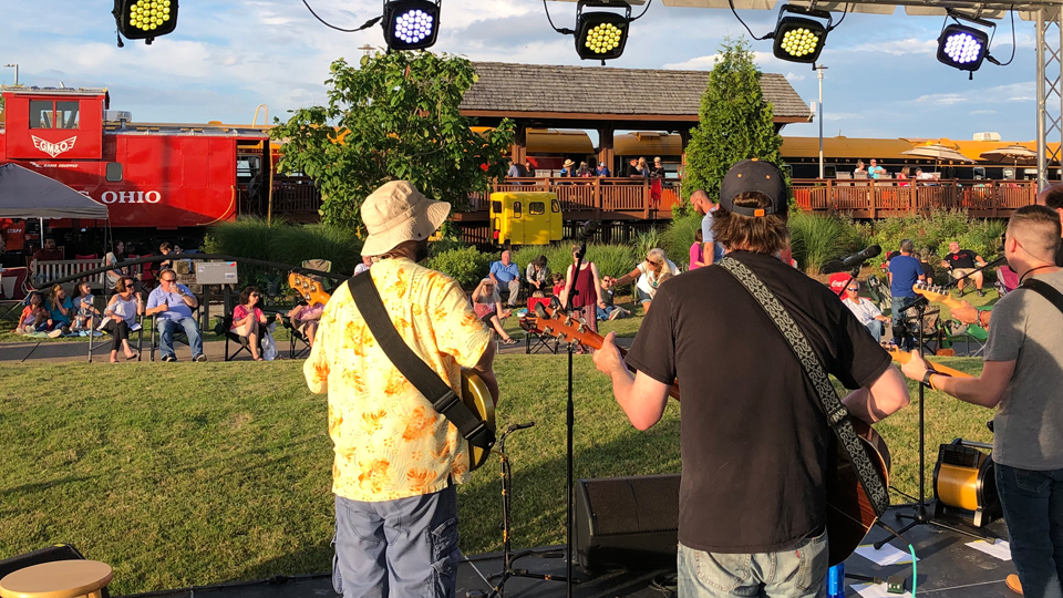Opening Night for Rhythm on the Rails May 1, 2020