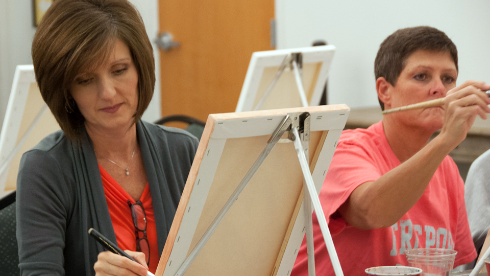 Wine and Paint Class Oct. 16, 2020