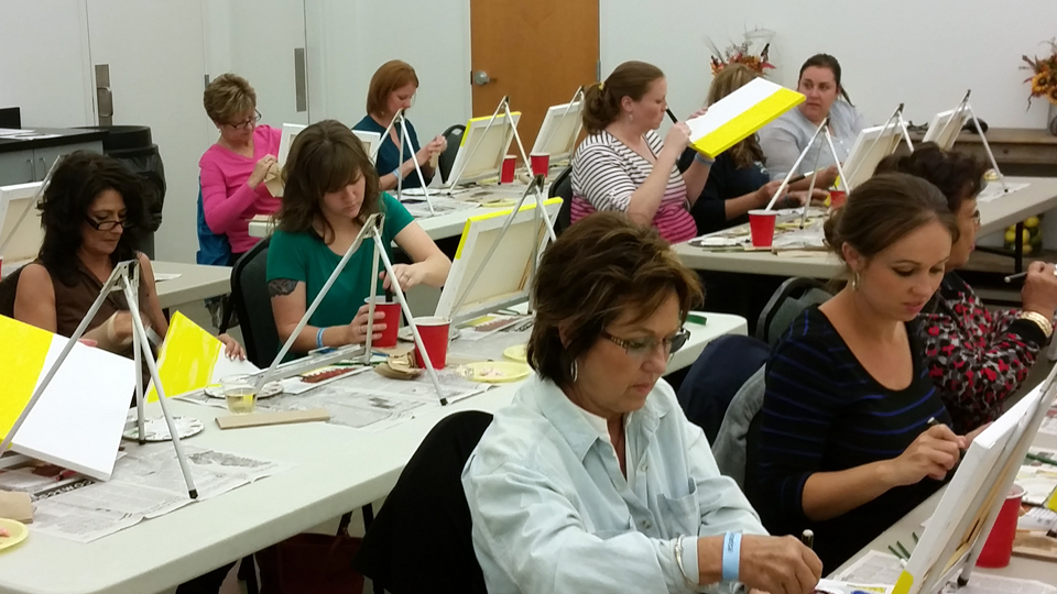 Wine and Paint Class Sept. 18, 2020