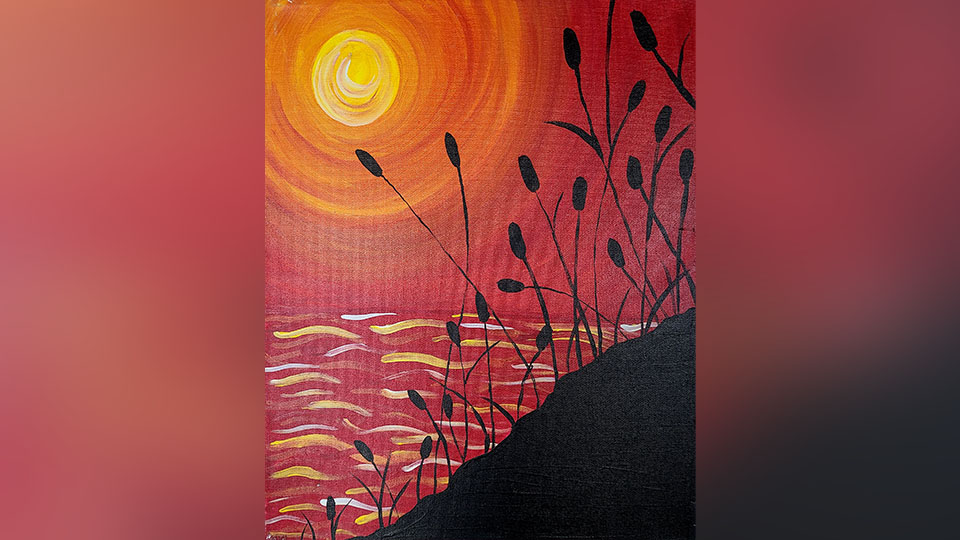 Wine and Paint Class July 16, 2021