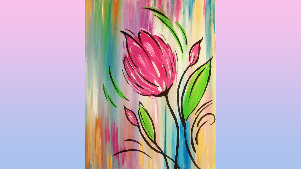 Wine and Paint Class April 16, 2021